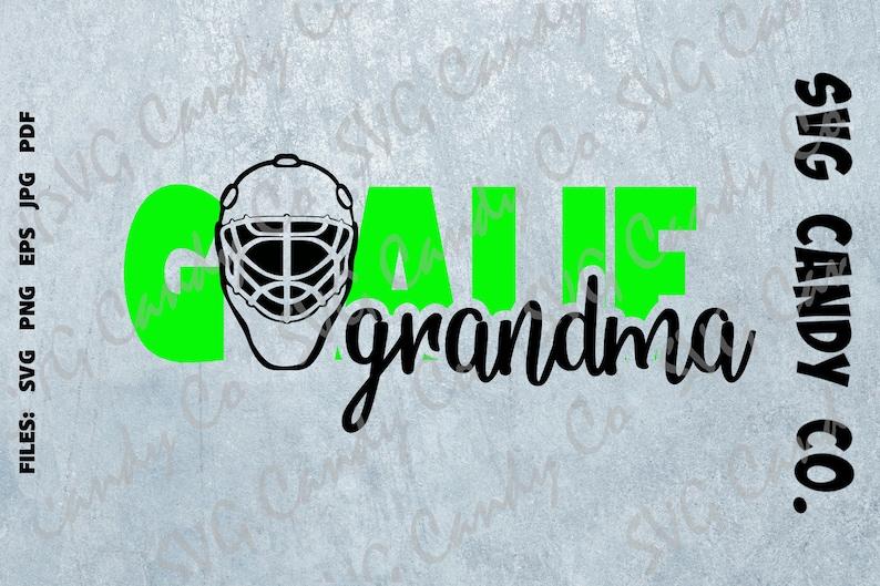 e1861dea52907 Grandma goalie hockey shirt svg design, cute shirt for grandma, ice hockey  pride shirt, instant download svg files