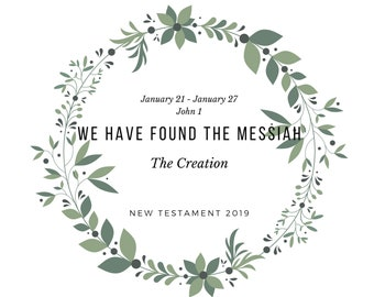 New Testament Come Follow Me Lesson 4