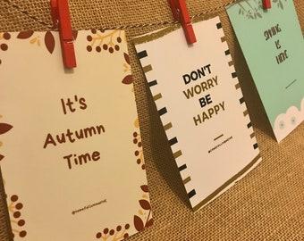 Darling Decorative Prints for all Seasons!