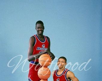 Manute Bol and Muggsy Bogues Washington Bullets Photo 949158263
