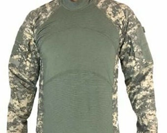dfbd7f4c8087 New Massif Flame Resistant FR Army Combat Shirt ACU ACS Shirt All Sizes
