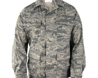 702ee60e7b3a6 US Air Force Summer RABU Abu Ripstop Utility Coat Jacket Tiger Stripe USAF