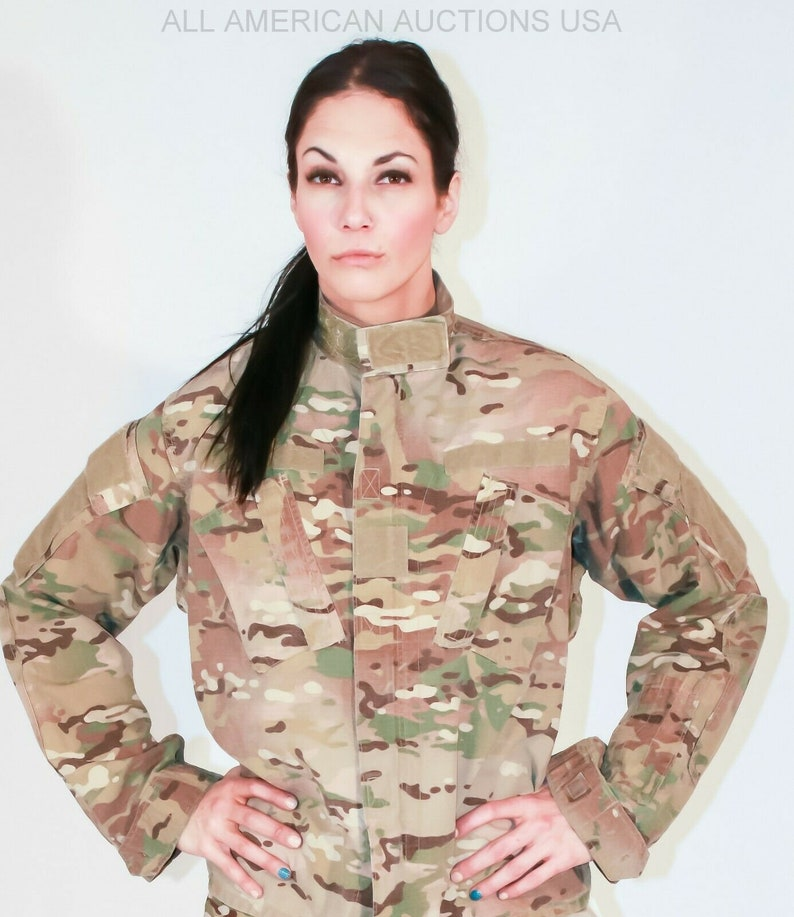 Multicam Jacket FRACU Flame Resistant Insect Guard Hunting Ripstop Windproof