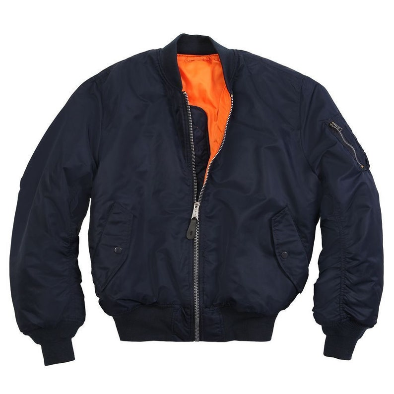 New Greenbrier Man/'s Intermediate MA-1 Flyers Nylon Polyester Jacket Coat