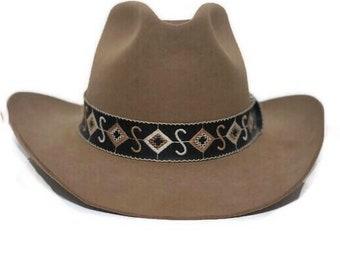 d77136e37 Size 8 cowboy hat   Etsy