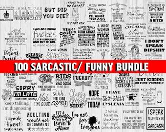 Sarcastic Svg Bundle, Funny Quotes Svg, Sarcastic Svg Files, Sassy Svg, Sarcastic Quotes Svg Bundle, Funny Quotes Svg, Cut File for Cricut