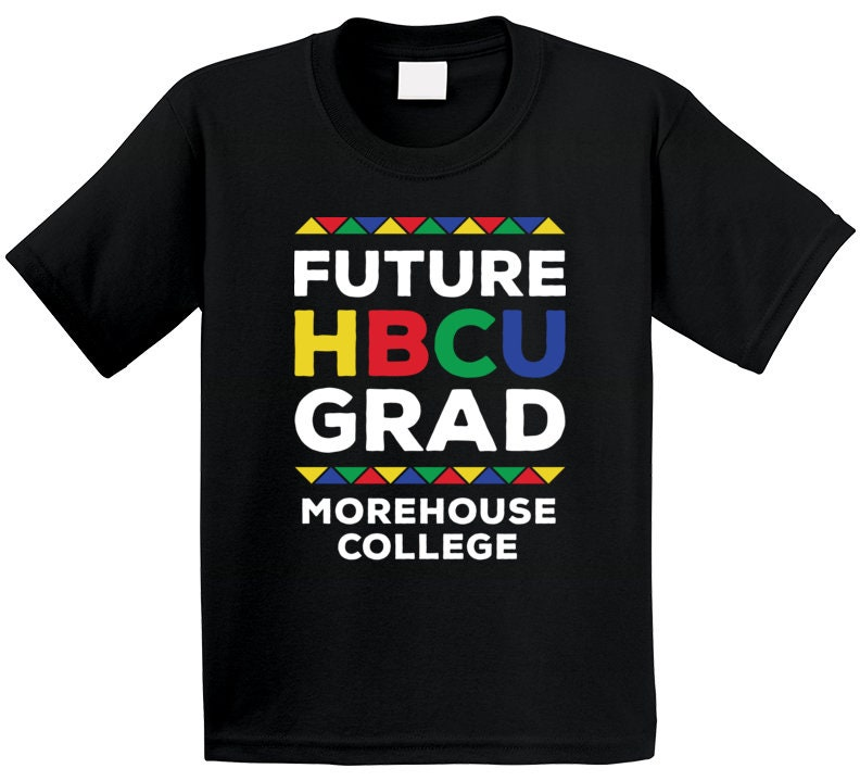 Vintage Aprons, Retro Aprons, Old Fashioned Aprons & Patterns Future Hbcu Grad Morehouse College T Shirt $20.99 AT vintagedancer.com