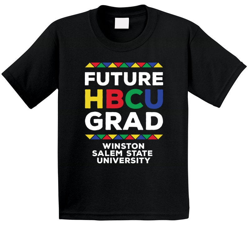 Vintage Aprons, Retro Aprons, Old Fashioned Aprons & Patterns Future Hbcu Grad Winston Salem State University T Shirt $20.99 AT vintagedancer.com