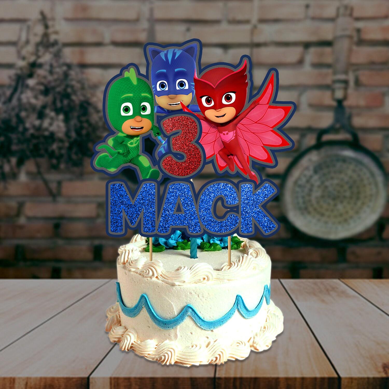 PJ Mask Cake Topper Pj