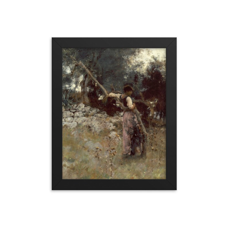 A Capriote 1878  Framed Art Print John Singer Sargent