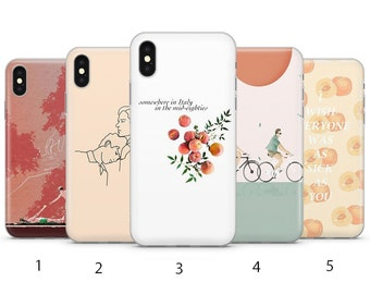 Call Me By Your Name Personalised Phone Case For Iphone Samsung Huawei B36 Cases, Covers & Skins Cell Phone Accessories