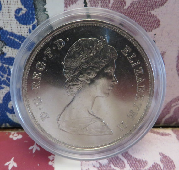 1952 - 1977 Queen Elizabeth 2nd - Silver Jubilee Crown
