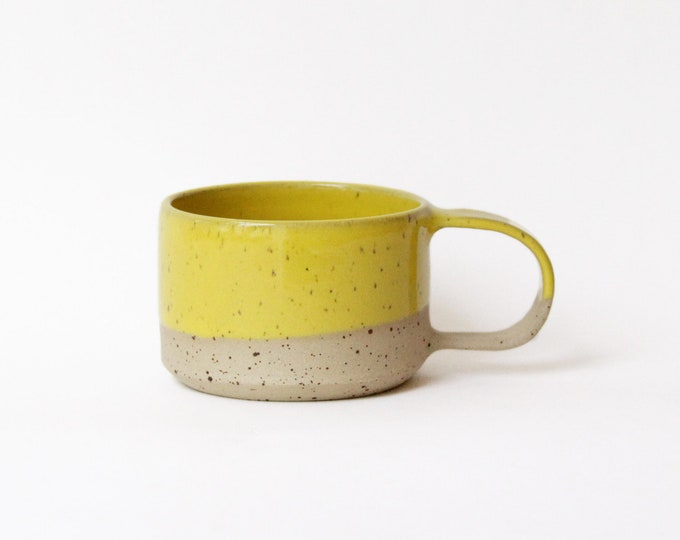 Featured listing image: Small Cup#1 - Yellow - Ceramic - Tableware