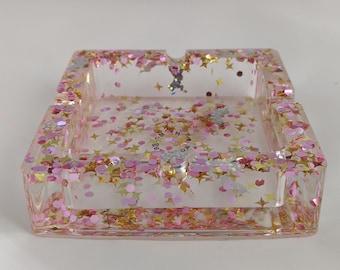 Custom Square Resin Trinket Tray