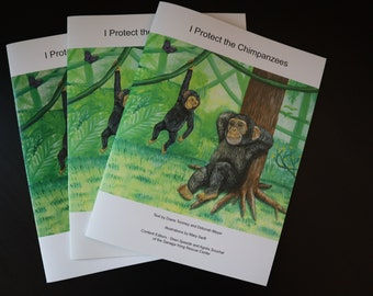 I Protect the Chimpanzee - A Children's Book on Conservation