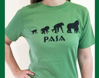 PASA Women's T-shirt for Primate Conservation - Support the Pan African Sanctuary Alliance!