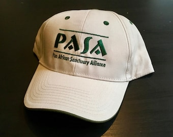 PASA Hat for Primate Conservation - Support the Pan African Sanctuary Alliance!