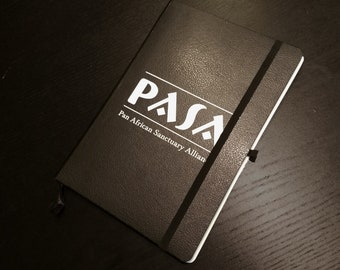 """PASA 5 x 8"""" Journal Field Notebook - Support the Pan African Sanctuary Alliance!"""