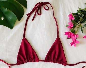 Berry Triangle Top