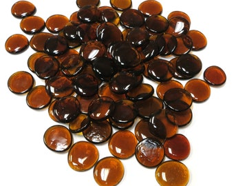 amber angel charm Pendant charm BuntMixxDESIGN crystal clear amber brown glass bead lucky Charm School Start