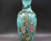 Qing Dynasty Kangxi Style Famille Rose Fencai Porcelain Big Vase,China Vintage ceramic collection Chinese Antiques Porcelain