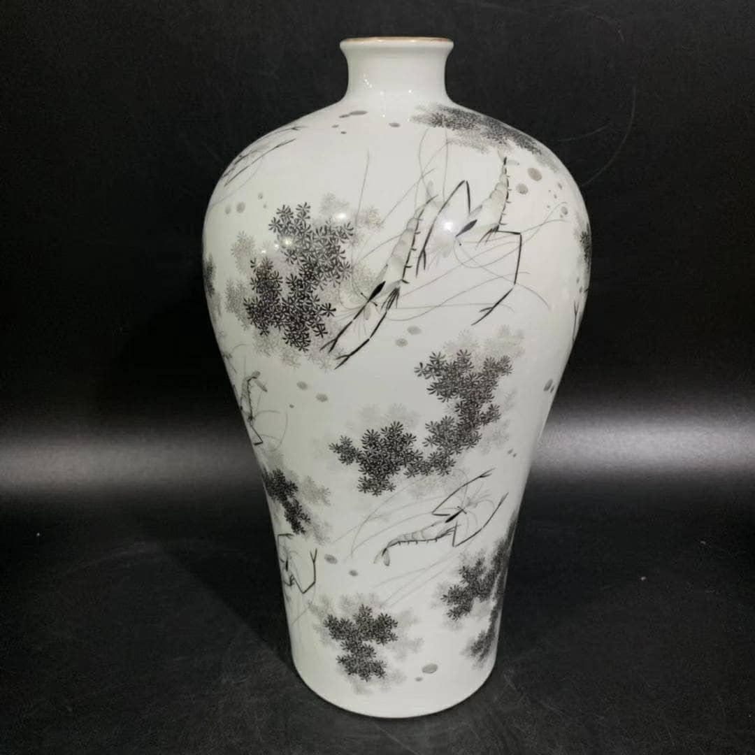 China Porcelain qing yongzheng guan kiln famille rose flowers and plants bowl