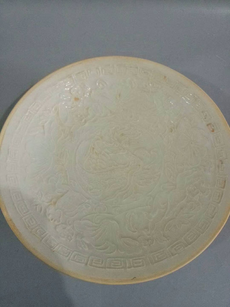 Song Dynasty Ding Kiln Porcelain Ivory White Glaze Bowl,Rare Vintage China  Royal Art ceramic collection Chinese Antiques Porcelain