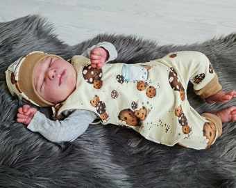 Milk & Cookie | Baby romper double-layered | Autumn - Spring - Transitional period