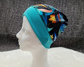 | dinosaurs in space Cap with cuffs | Autumn - Spring - Transitional period