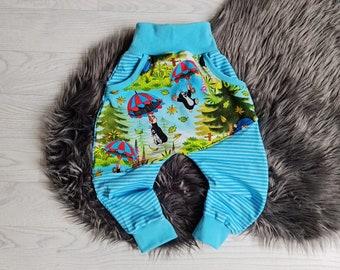Growing pump pants | Size 86 | Motive: Mole Pauli in autumn | B-Goods