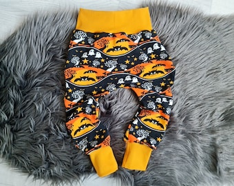 Growing baby pants | Size 92 | Motif: Halloween