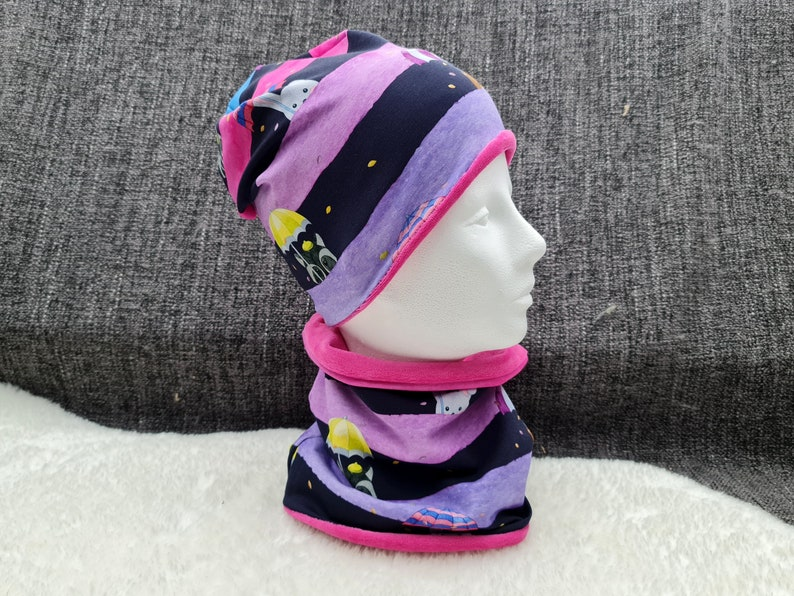 Rainy weather dark  Beanie with Loop   individually or as a image 1