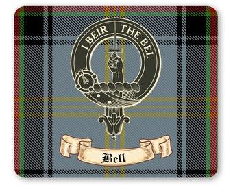 Bell Clan Crest Earrings