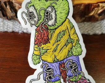 Weird Guy Sticker