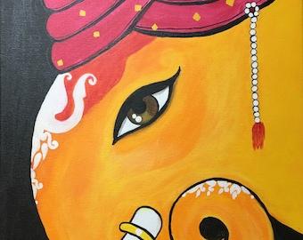 Lord Ganesh with Turban