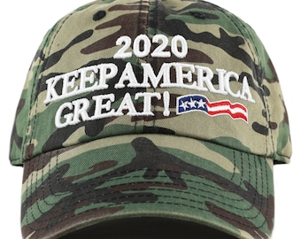 2309268cf4d Donald Trump 2020 President Campaign Flag Washed Cotton Unstructured Cap