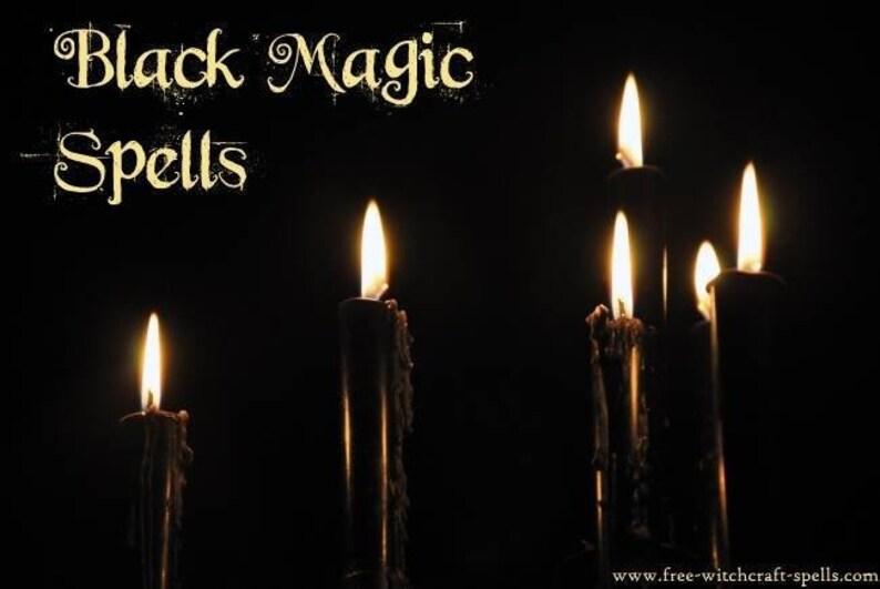 Black Magic Spell Book