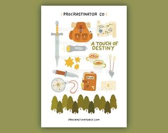 Adventure Sticker Sheet