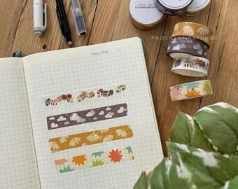Washi Tape Samples - Artist Designed Washi