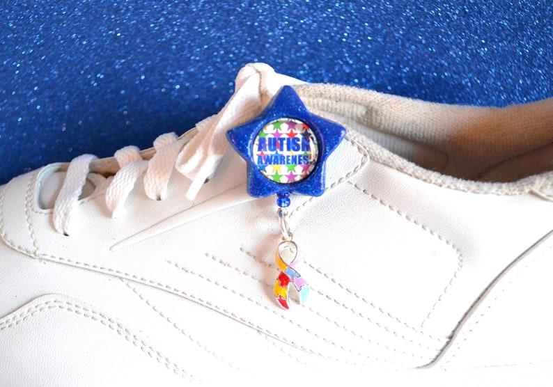 Charm Puzzle Autism Awarness Official Shoebie Shoelace image 0
