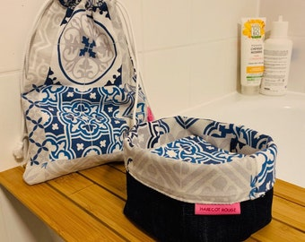Azulejos washable wipes with optional pan and/or storage pod