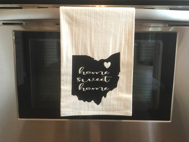 Stupendous Home Sweet Home Kitchen Towel Home Interior And Landscaping Eliaenasavecom