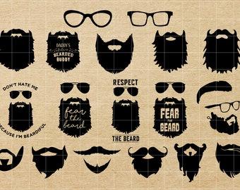 Beard Svg Etsy