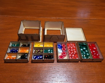 MCP Compatible Building With Token/Dice Inserts