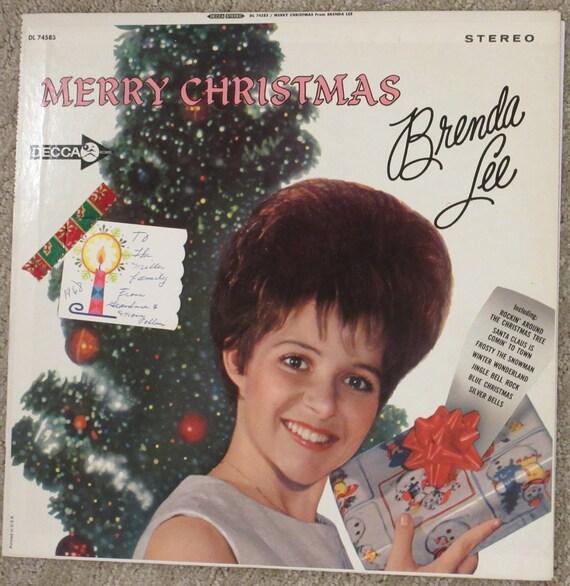 Rockin Around The Christmas Tree Brenda Lee.Christmas Brenda Lee Vinyl Lp Record Album 1964 Rockin Around The Christmas Tree