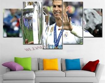f39a076c696 Cristiano Ronaldo poster set Ronaldo canvas art print