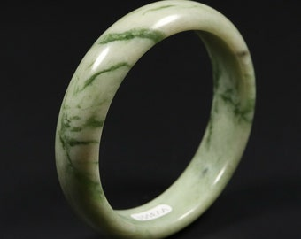 Womens 925 Sterling Silver Green Jade Cocktail 1014mm Ring 8