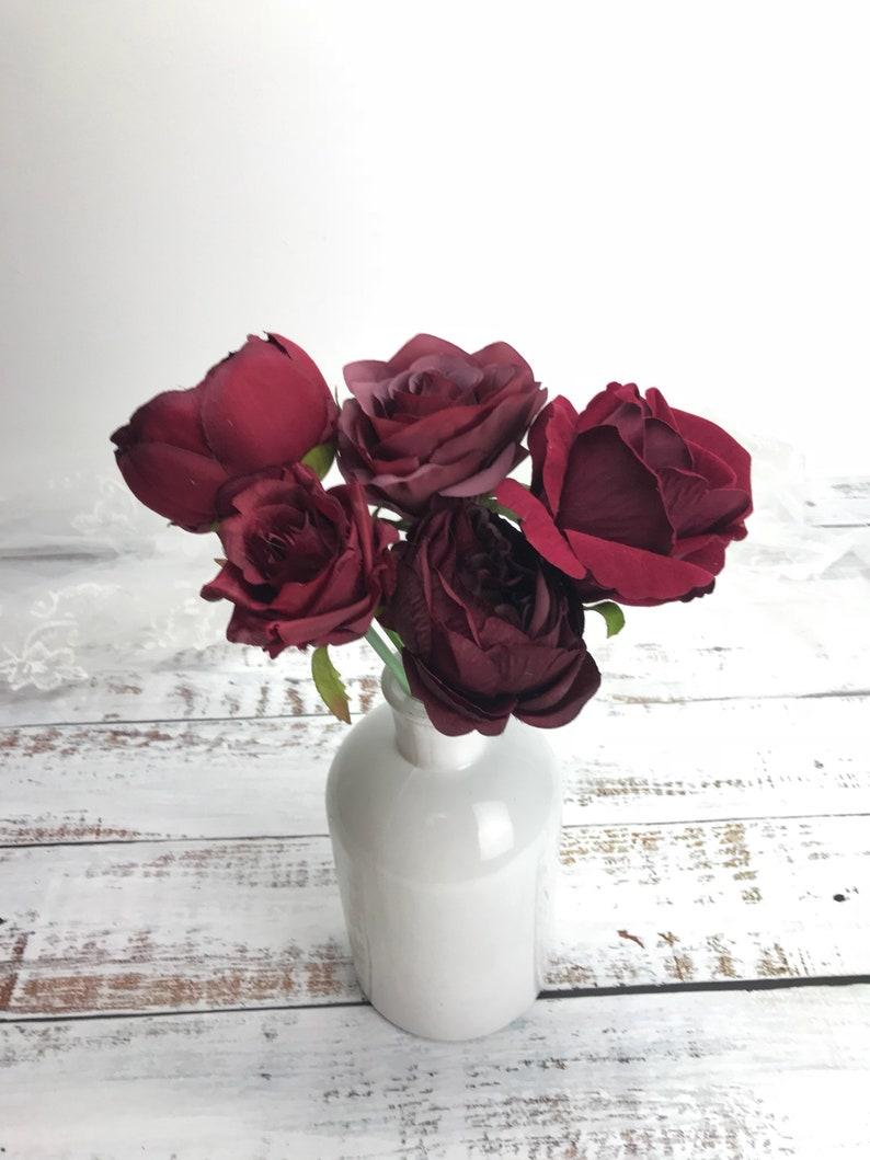 Loose flower centerpiece diy,artificial flower Wedding bouquet diy