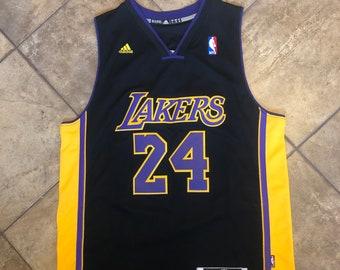60dddd6ec09 Vintage - Lakers Kobe Bryant - 24 Jersey - Adidas