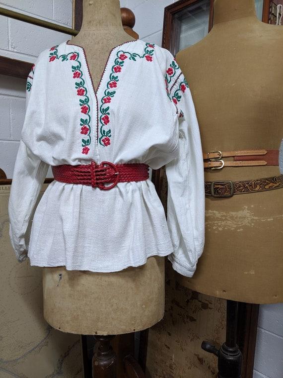 Hungarian Handmade Folk blouse
